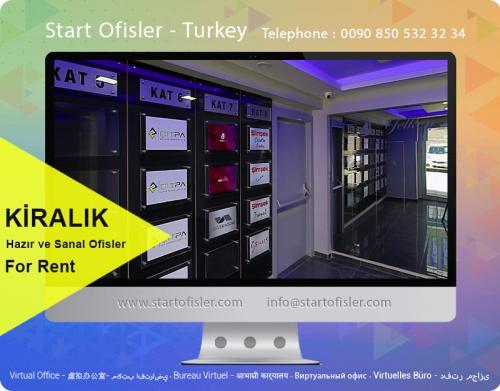İstanbul anadolu yakası kiralık mobilyalı ofis