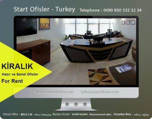 Maltepe kiralık mobilyalı ofis