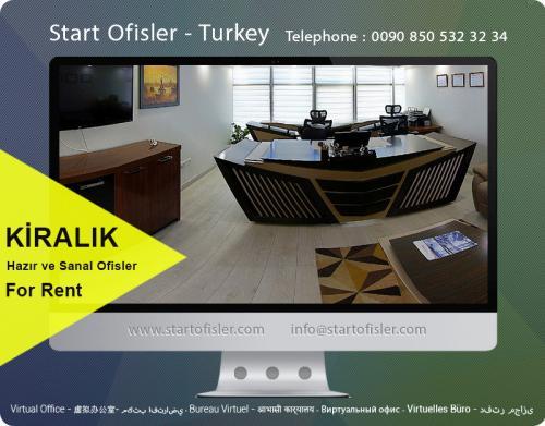 istanbul türkiye hazır ofis