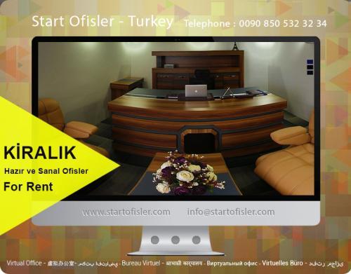 istanbul türkiye kiralık büro