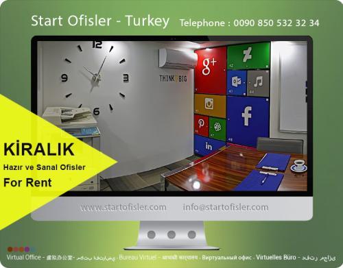 istanbul türkiye kiralık ofis katı