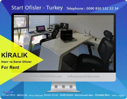 kiralık hazır ofis istanbul türkiye